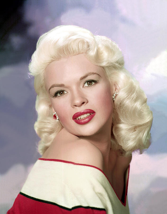 Blond Photograph - Jayne Mansfield, Ca. 1957 by Everett