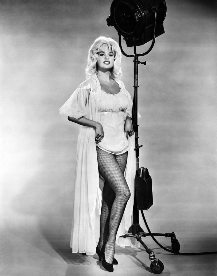 Blonde Photograph - Jayne Mansfield, Ca. 1962 by Everett