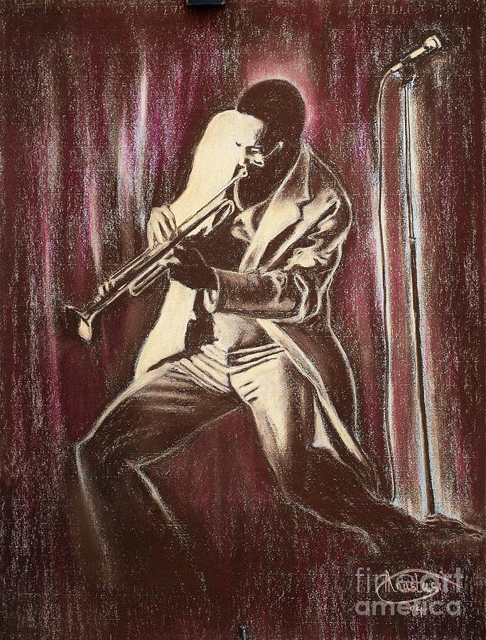 Paper Painting - Jazz by Anastasis  Anastasi