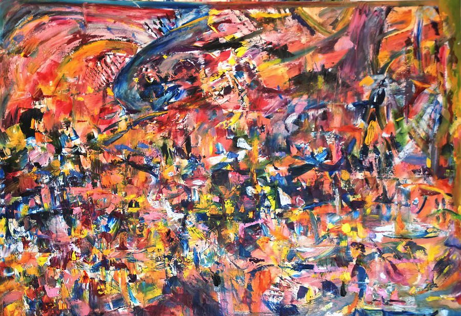 Abstract Painting - Jazz by Beverly Smith