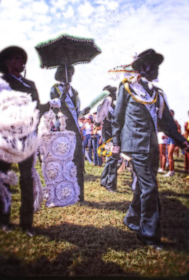 Louisiana Photograph - Jazz Fest Nola 1979 by Federico Arce