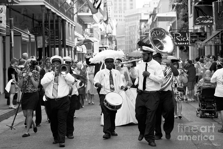 New Orleans Photograph - Jazz Wedding by Leslie Leda