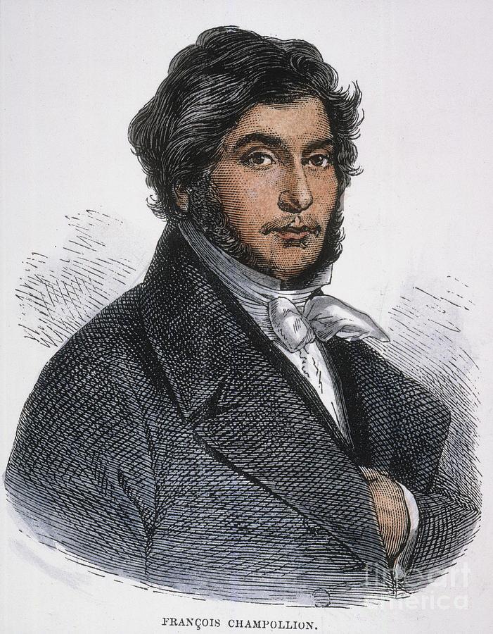 1831 Photograph - Jean-francois Champollion by Granger