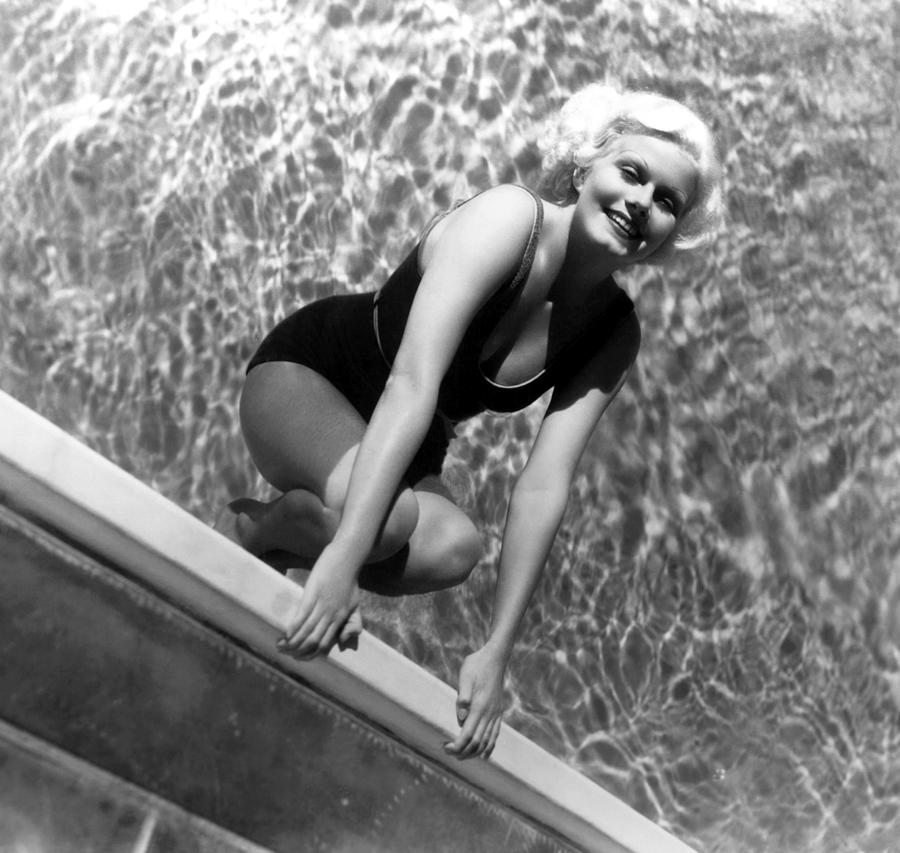 1930s Fashion Photograph - Jean Harlow, Mgm, Ca. Early 1930s by Everett