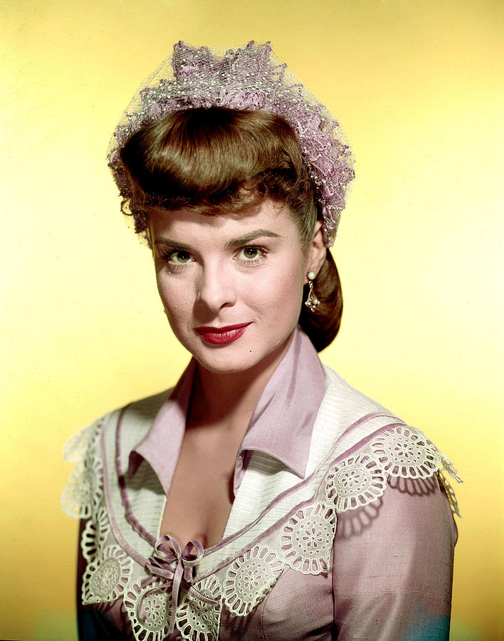 Jean Peters Ca Late 1940s Photograph By Everett