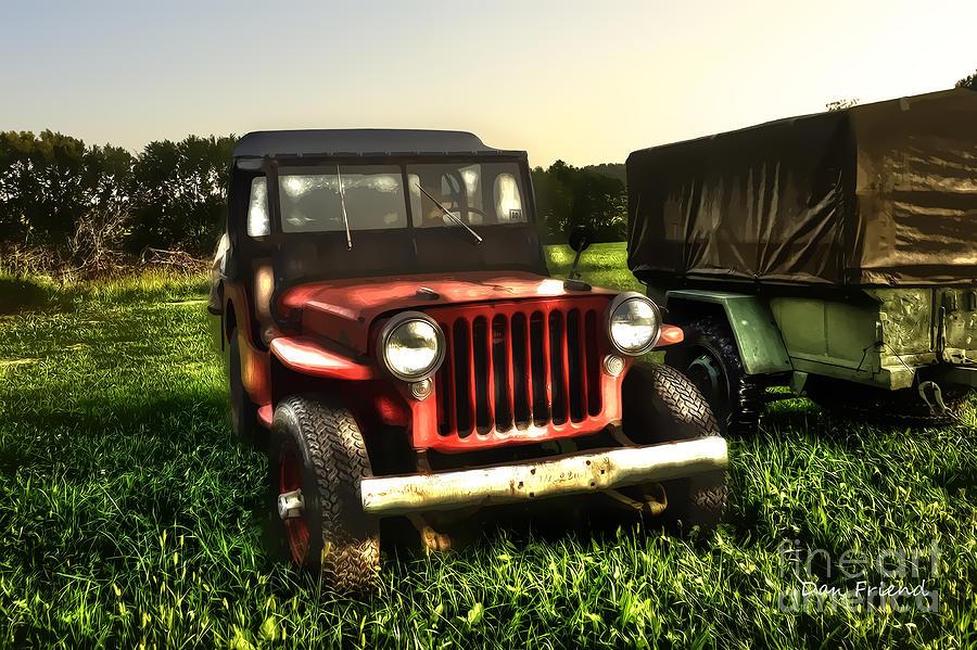 Jeep Photograph - Jeep Seen Better Days by Dan Friend