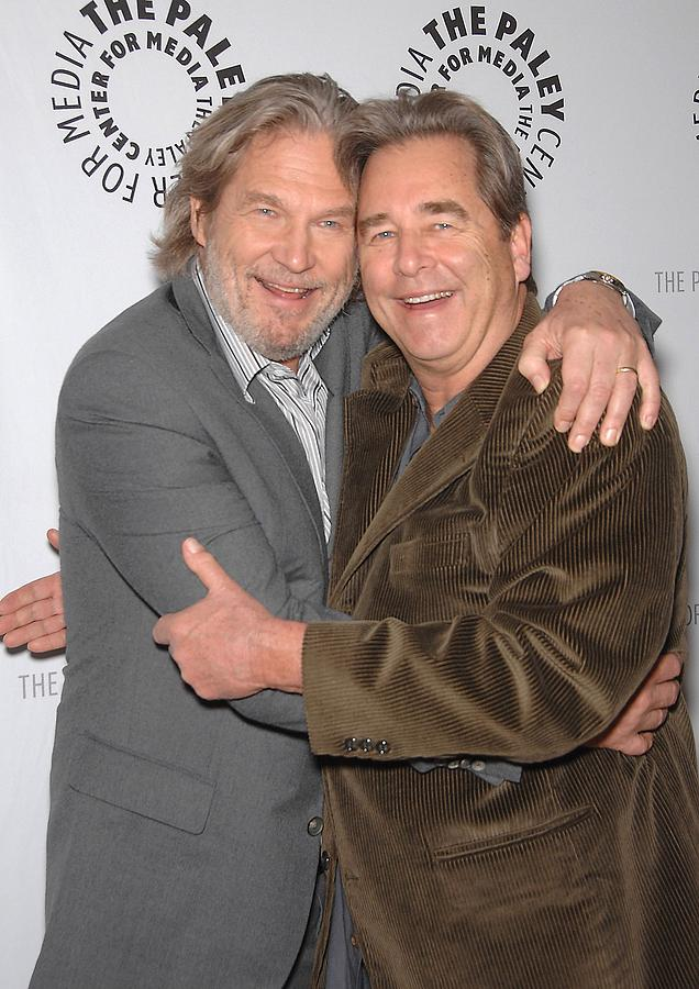 Jeff Bridges Photograph - Jeff Bridges, Beau Bridges by Everett