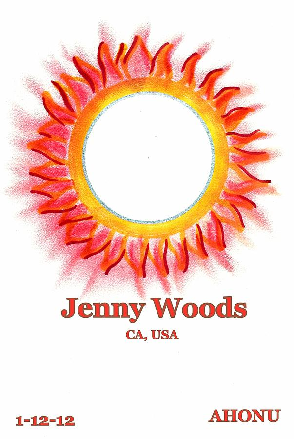 Ancestral Healing Painting - Jenny Woods by Ahonu