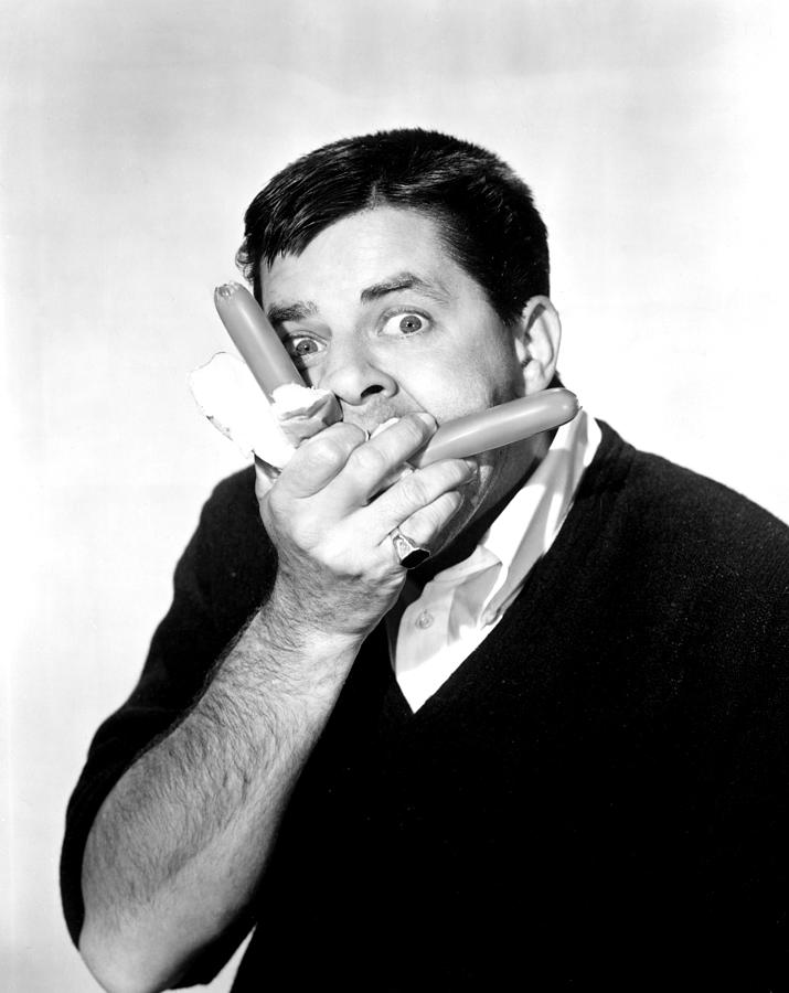 Buns Photograph - Jerry Lewis, Portrait by Everett