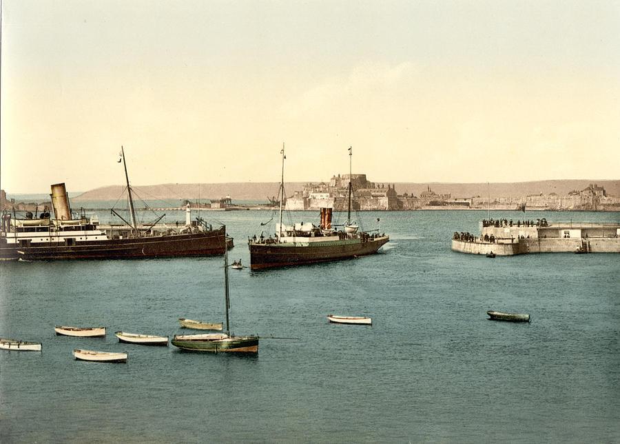 Jersey Channel Islands Canvas Prints