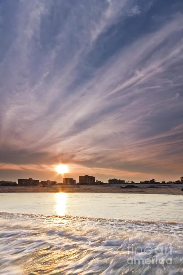 Jersey Shore Wildwood Crest Sunset Photograph By Dustin K Ryan