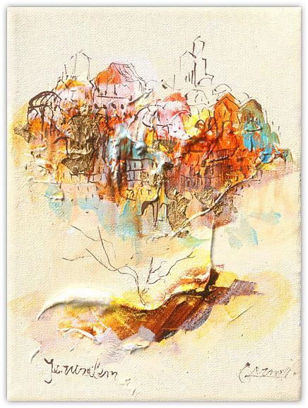 Jerusalem Relief by Arnold Goldberg