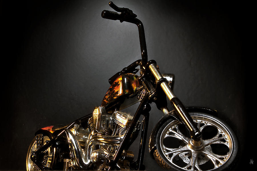 Jesse James Bike 2 Detroit MI Photograph by Nicholas  Grunas