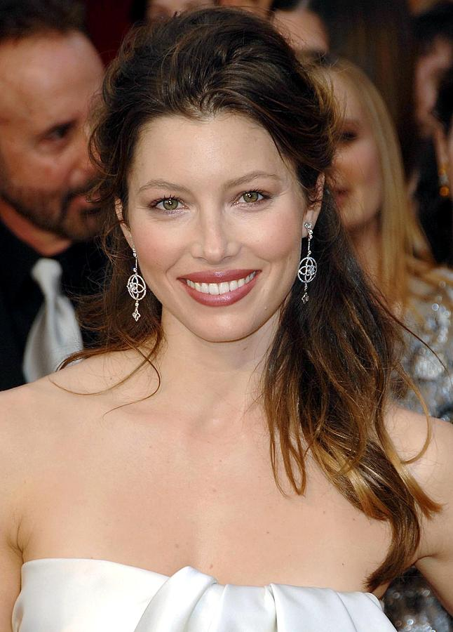 Jessica Biel Photograph - Jessica Biel At Arrivals For 81st by Everett