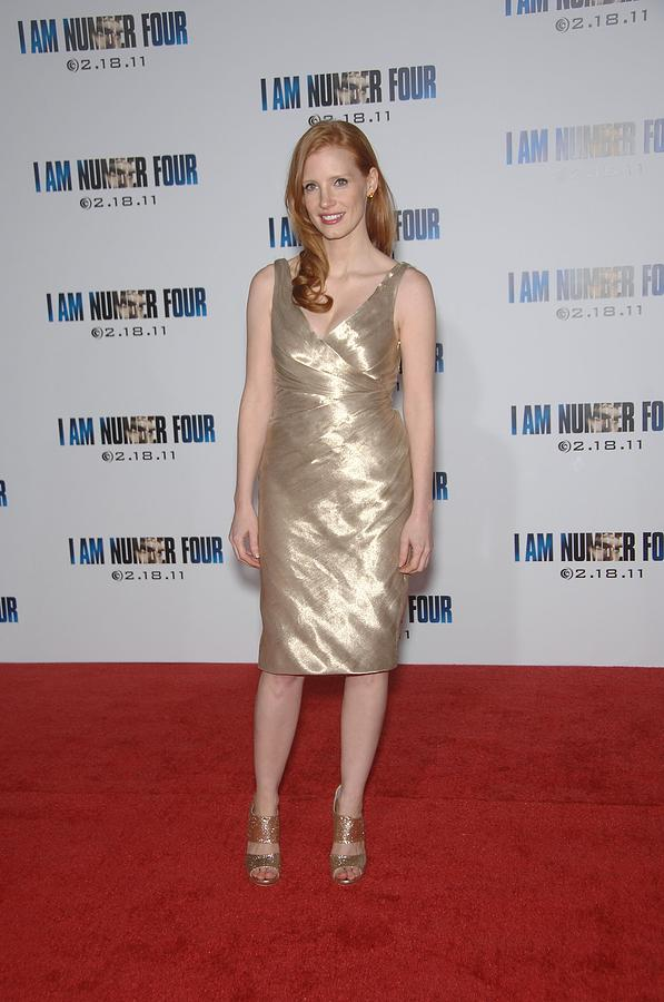 Jessica Chastain Photograph - Jessica Chastain At Arrivals For I Am by Everett