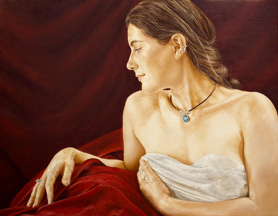 Paintings Painting - Jessie by David Wells