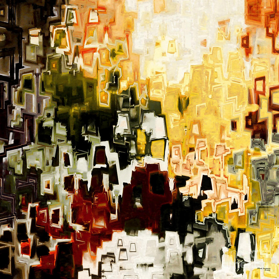 Abstract Painting - Jesus Christ A Man Of Sorrows by Mark Lawrence