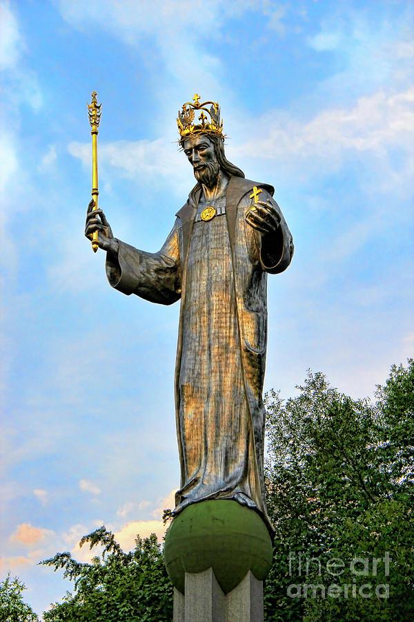 Jesus Christ Statue Photograph By Mariola Bitner