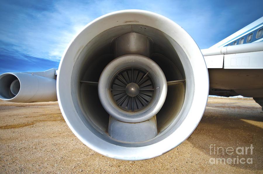Aircraft Photograph - Jet Engine by Eddy Joaquim