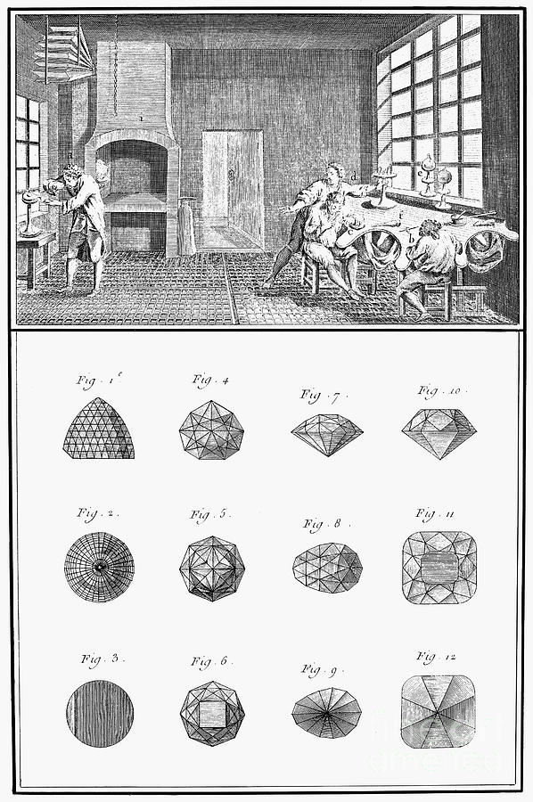 18th Century Photograph - Jewelers Workshop by Granger