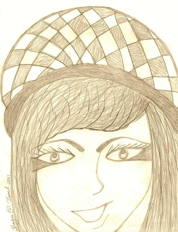 Jezebel   Drawing by Shayna  Keach