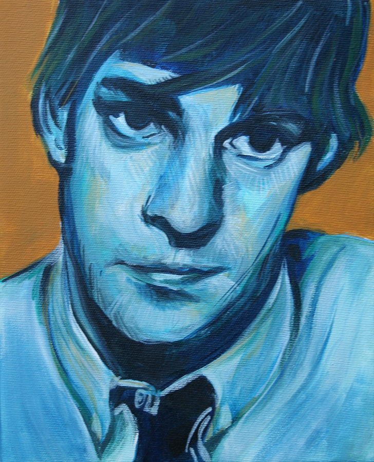 Jim Halpert Painting - Jim by Kate Fortin