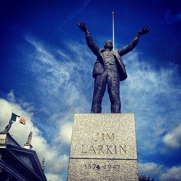 Dublin Photograph - Jim Larkin #dublin #photography by David Lynch