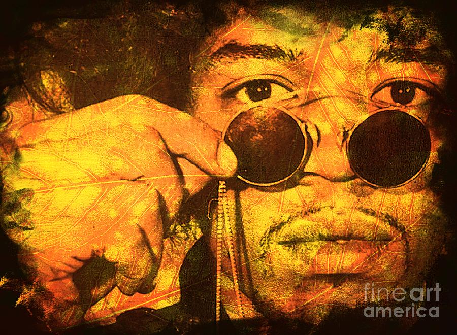 Jimi Hendrix Digital Art - Jimi by Ankeeta Bansal