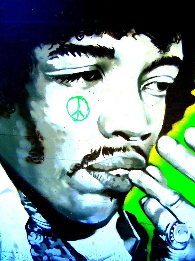 Jimi Photograph - Jimi Hendrix by Randall Weidner