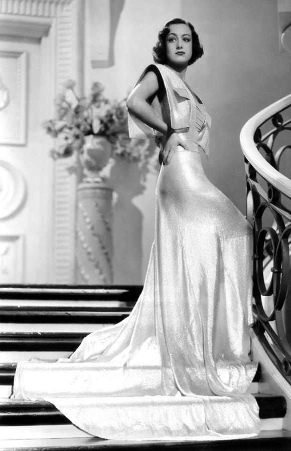 1930s Fashion Photograph - Joan Crawford, 1930s by Everett