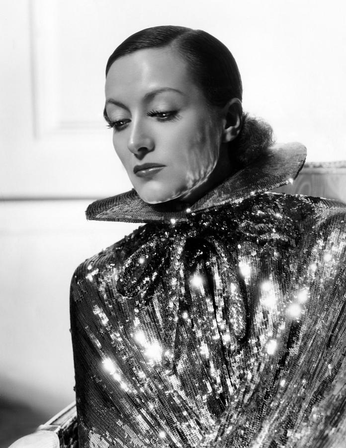 1930s Fashion Photograph - Joan Crawford, 1934, Photo By Hurrell by Everett