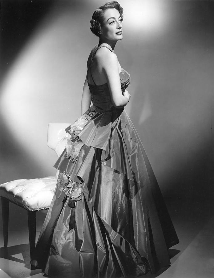 1950s Fashion Photograph - Joan Crawford, Circa Early 1950s by Everett