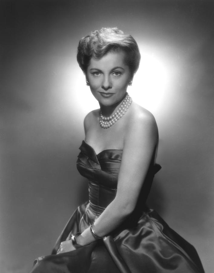 1950s Fashion Photograph - Joan Fontaine, Ca. 1950s by Everett