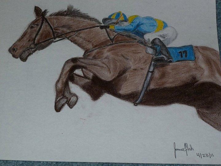 Jockey Pastel by Jamie Mah