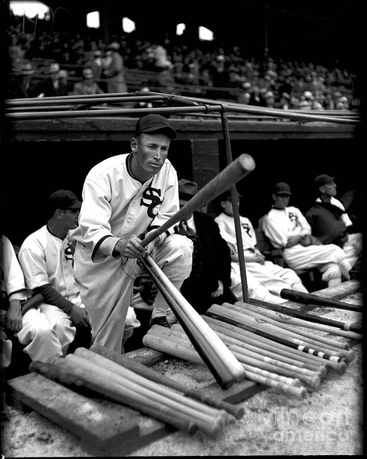 Chicago White Sox Photograph - Joe Chamberlain - Chicago White Sox by David Bearden