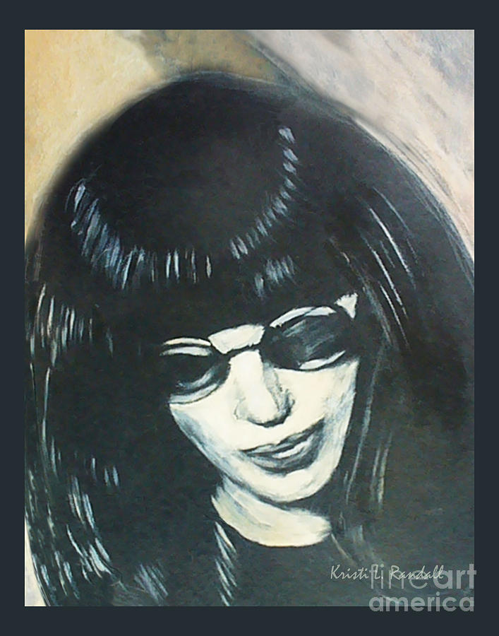 Joey Ramone Painting - Joey Ramone The Ramones Portrait by Kristi L Randall