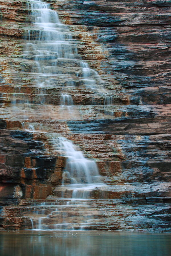 Karijini National Park Photograph - Joffre Gorge - Karijini Np 2am-29568 by Andrew McInnes