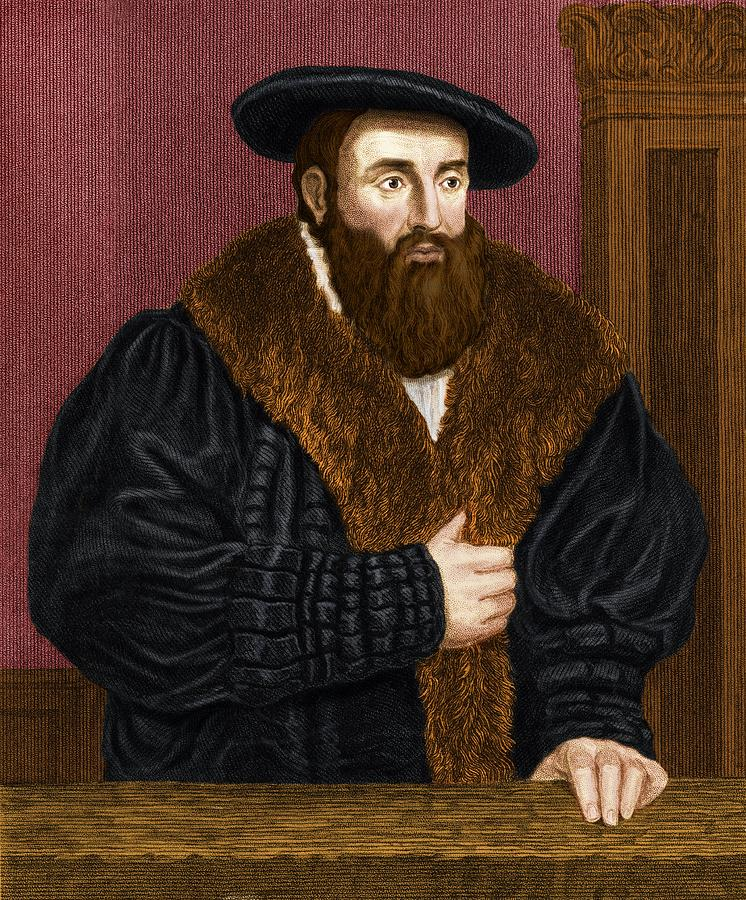 Johannes Kepler Photograph - Johannes Kepler, German Astronomer by Maria Platt-evans