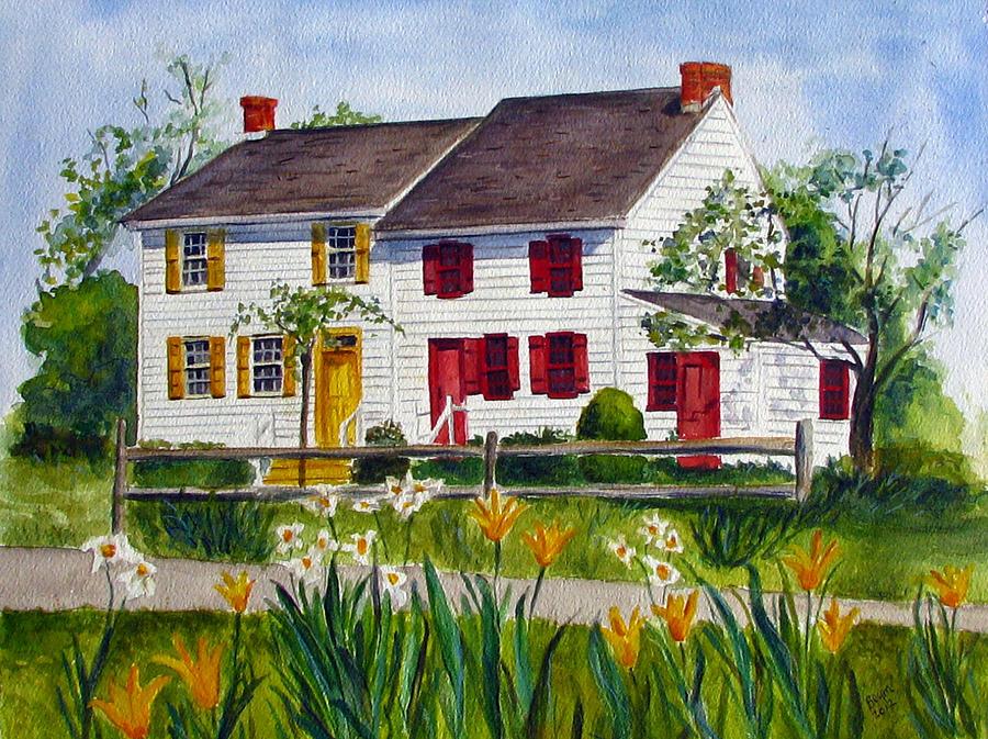 John abbott house painting by clara sue beym for Abbott house