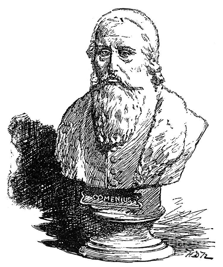 Amos Photograph - John Amos Comenius by Granger