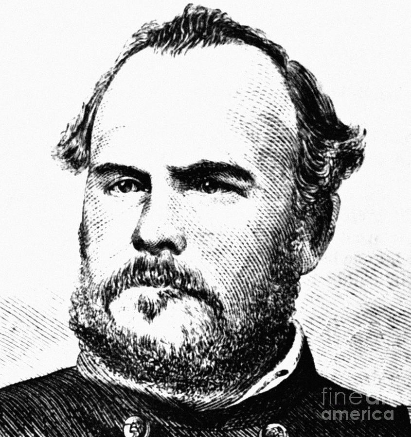1863 Photograph - John Chivington (1821-1894) by Granger
