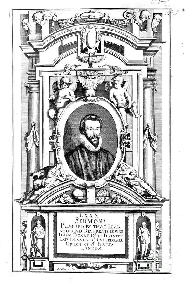 1640 Photograph - John Donne (1573-1631) by Granger