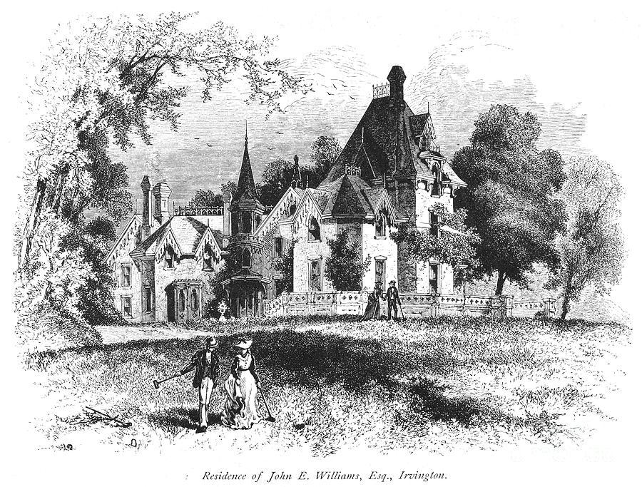 1876 Photograph - John E. Williams Residence by Granger