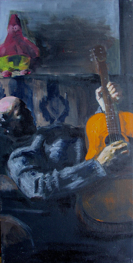 Portrait Painting - John by Eric Atkisson
