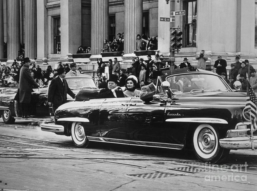 1961 Photograph - John F. Kennedy (1917-1963) by Granger