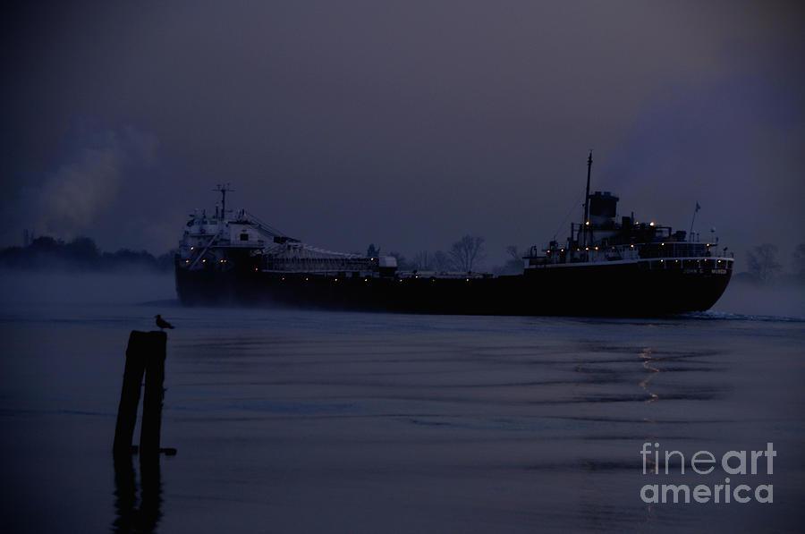 Ship Photograph - John G Munson by Ronald Grogan