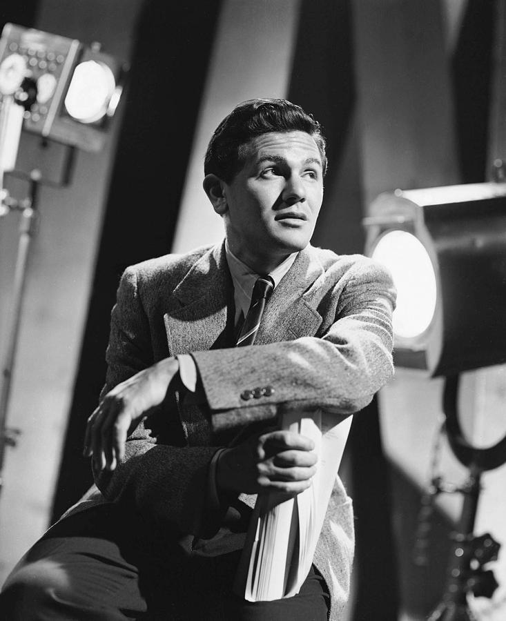 Garfield Photograph - John Garfield, No Date by Everett