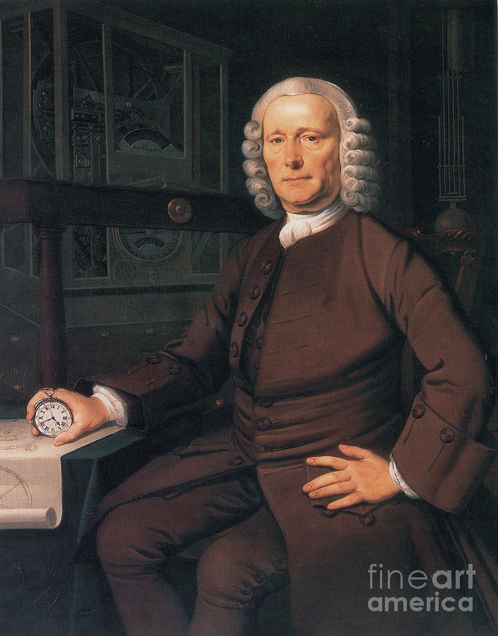History Photograph - John Harrison, English Inventor by Photo Researchers