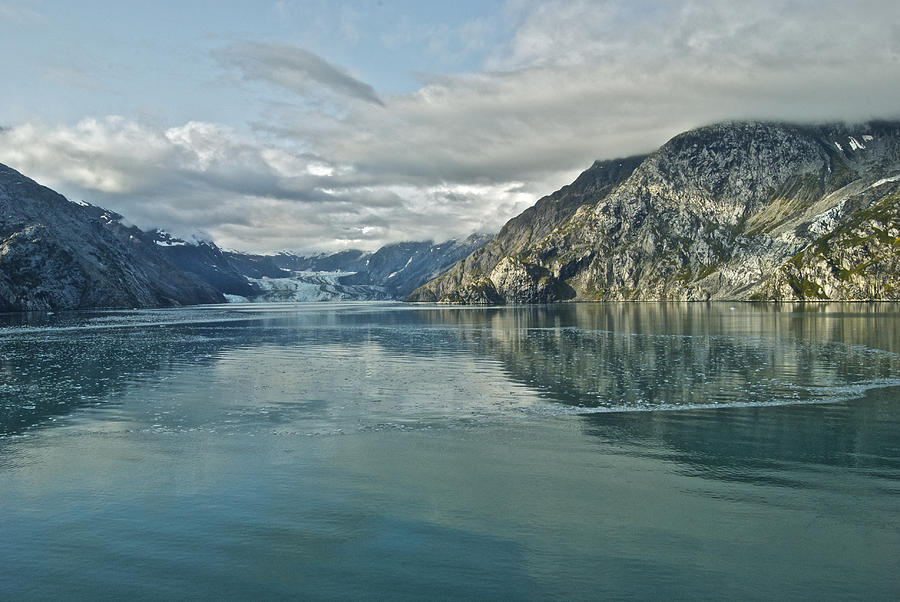 Alaska Photograph - John Hopkins Glacier 8269 2 by Michael Peychich