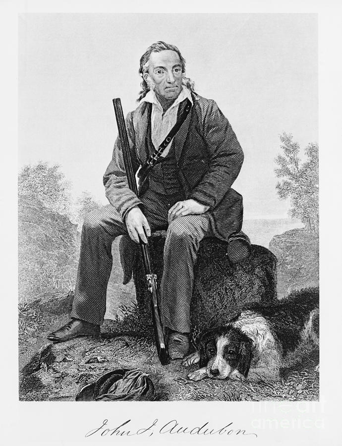 History Photograph - John James Audubon, French-american by Omikron